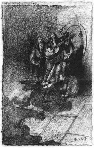 Cover: Untitled drawing by Ireneusz Ciesiolkiewicz